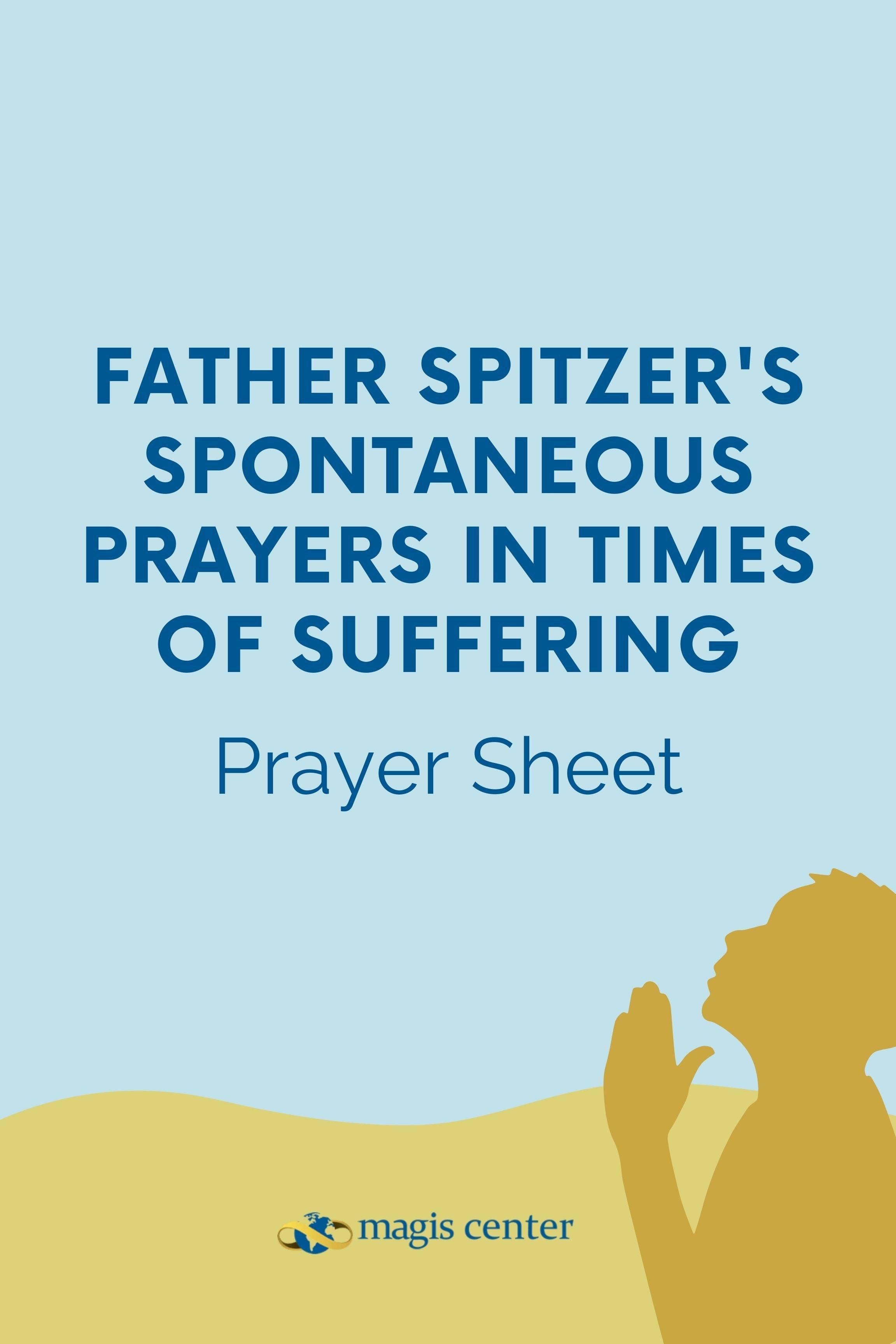Prayer Sheet_Spontaneous Prayers in times of Suffering